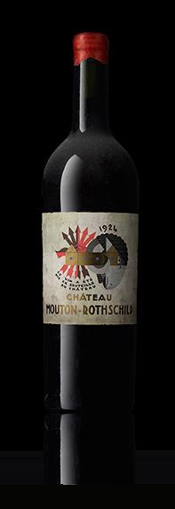 Bouteille ancienne Château Mouton Rothschild